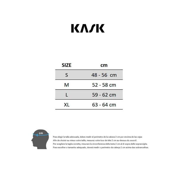 Casco Kask Mojito X blue matt